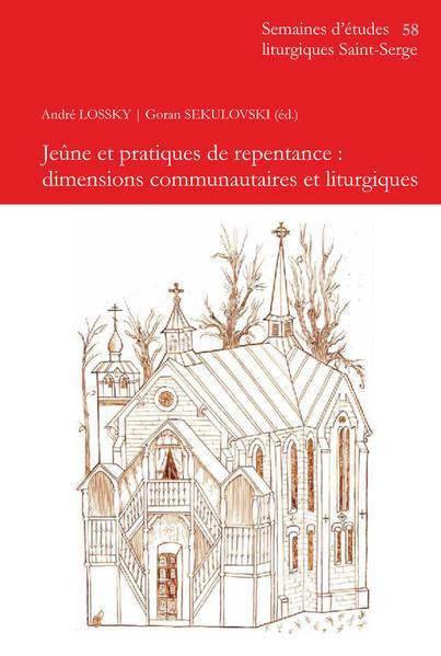 Jeûne et pratiques de repentance : dimensions communautaires et liturgiques - Coverbild