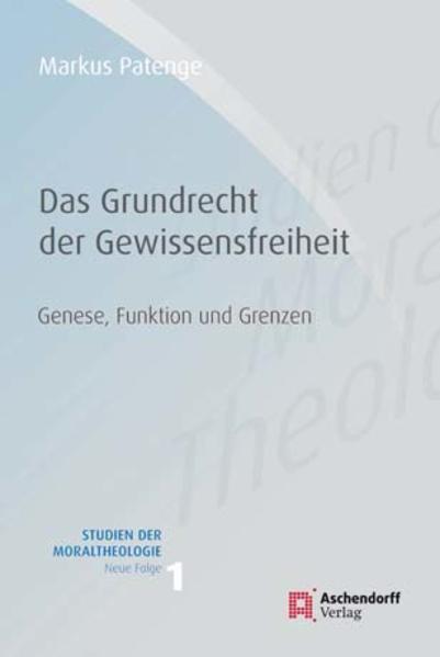 Grundrecht  Gewissensfreiheit - Coverbild
