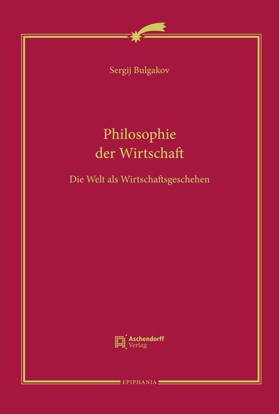 Philosophie der Wirtschaft - Coverbild