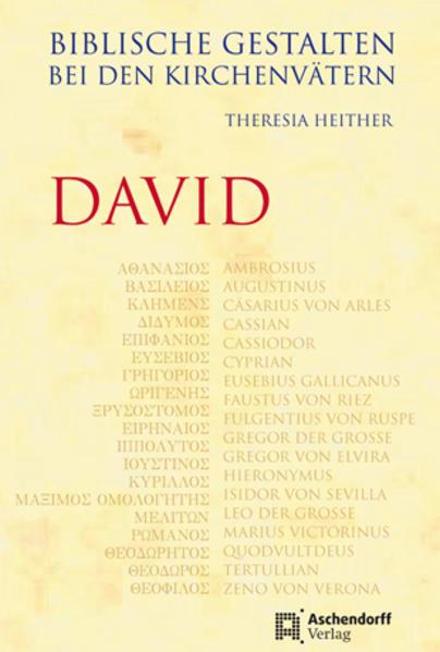 Biblische Gestalten bei den Kirchenvätern - David - Coverbild