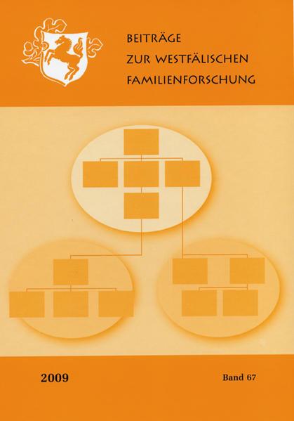 Beiträge zur Westfälischen  Familienforschung - Coverbild