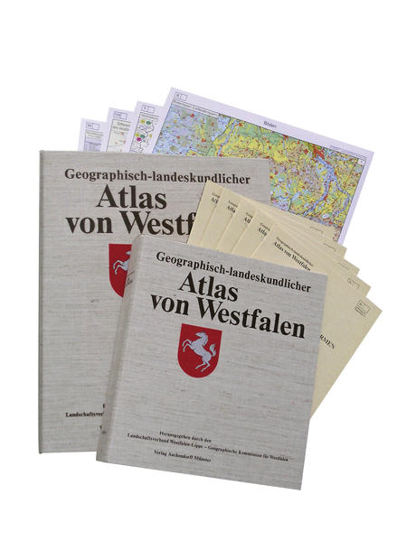 Geographisch-landeskundlicher Atlas von Westfalen - Coverbild
