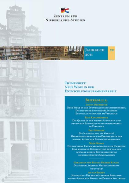 Jahrbuch des Zentrums für Niederlande-Studien, Band 23-2012 - Coverbild