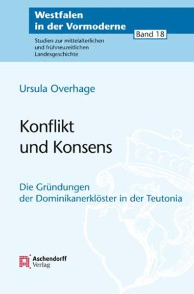 Konflikt und Konsens - Coverbild