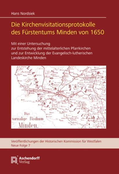 Die Kirchenvisitationsprotokolle des Fürstentums Minden von 1650 - Coverbild
