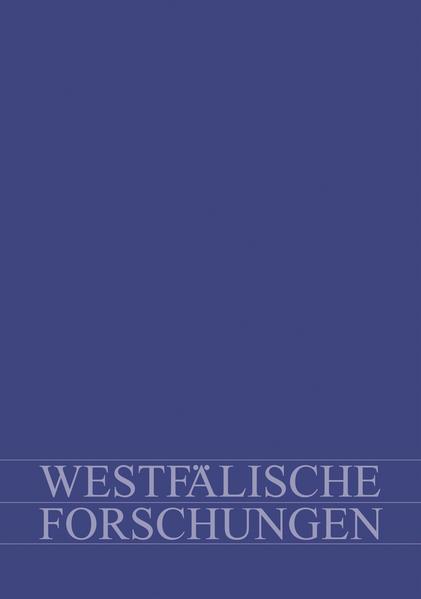 Westfälische Forschungen. Zeitschrift des Westfälischen Instituts für Regionalgeschichte des Landschaftsverbandes Westfalen-Lippe. Themenschwerpunkt: Migration und Gesellschaft seit dem 18. Jahrhundert - Coverbild