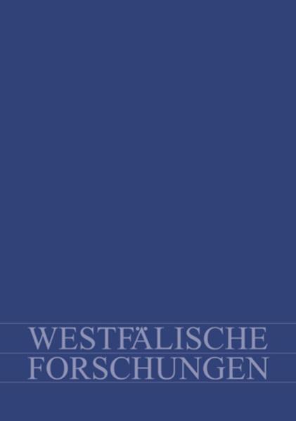 Westfälische Forschungen, Band 61-2011 - Coverbild