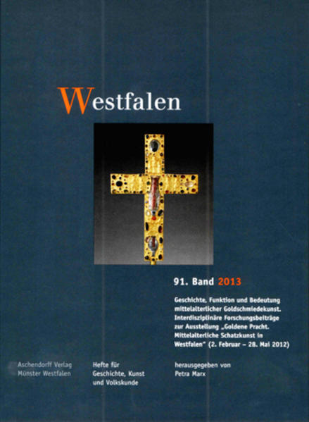 Westfalen, 91. Band 2013 - Coverbild