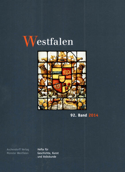 Westfalen, 92. Band 2014 - Coverbild