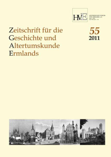 Zeitschrift für die Geschichte und Altertumskunde Ermlands, Band 55-2011 - Coverbild