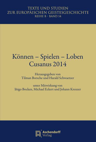 Können - Spielen - Loben - Coverbild