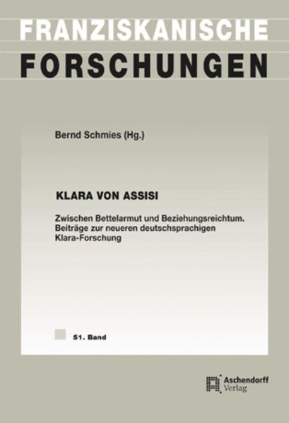 Klara von Assisi - Coverbild