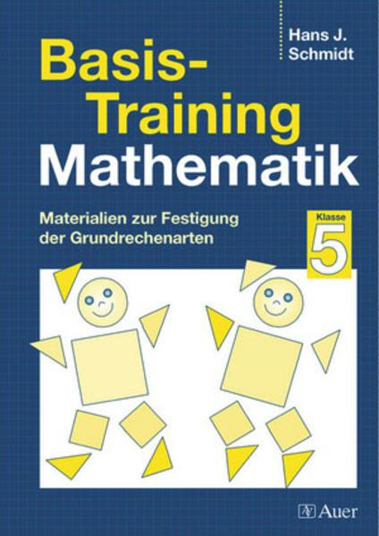 Basis-Training Mathematik, Klasse 5 - Coverbild