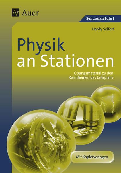 Physik an Stationen - Coverbild
