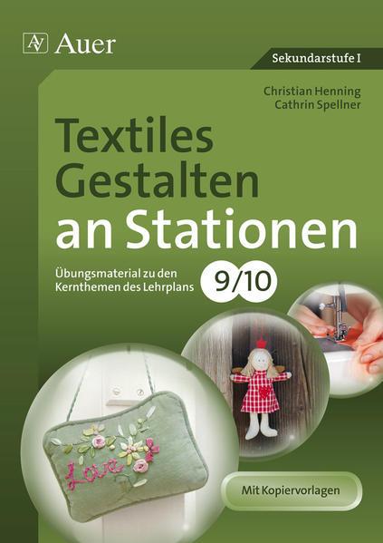 Textiles Gestalten an Stationen 9-10 - Coverbild