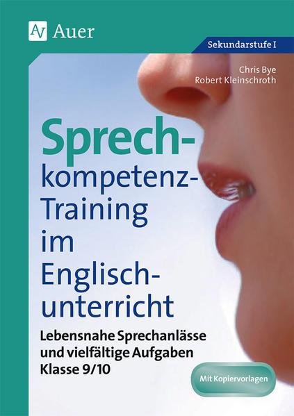 Sprechkompetenz-Training Englisch 9/10 - Coverbild