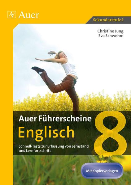 Auer Führerscheine Englisch 8 - Coverbild