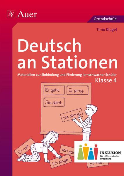 Deutsch an Stationen 4 Inklusion - Coverbild