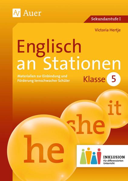 Englisch an Stationen 5 Inklusion - Coverbild