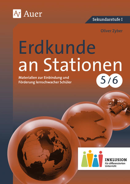 Erdkunde an Stationen 5-6 Inklusion - Coverbild