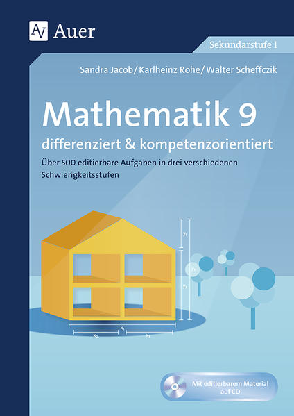 Mathematik 9 differenziert u. kompetenzorientiert - Coverbild