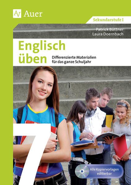 Englisch üben Klasse 7 - Coverbild