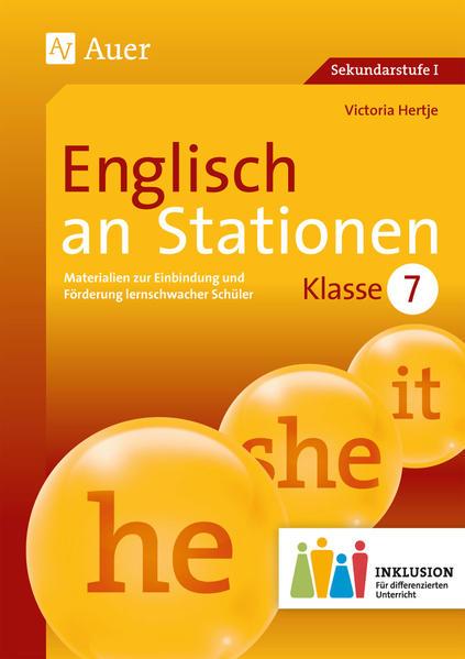 Englisch an Stationen 7 Inklusion - Coverbild
