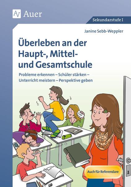Überleben an der Haupt-, Mittel- und Gesamtschule - Coverbild
