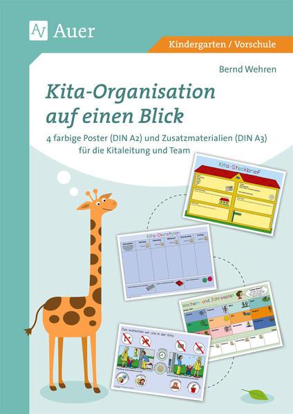 Kita-Organisation auf einen Blick - Coverbild