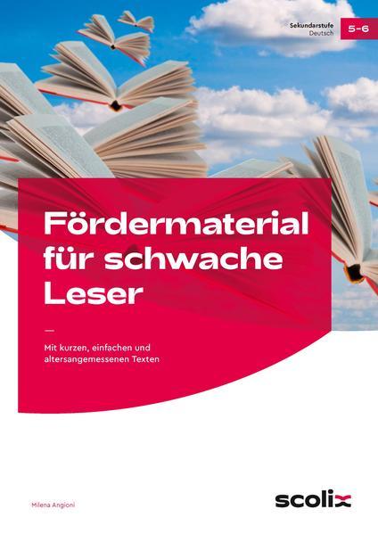 Fördermaterial für schwache Leser - Klasse 5-6 Epub Kostenloser Download