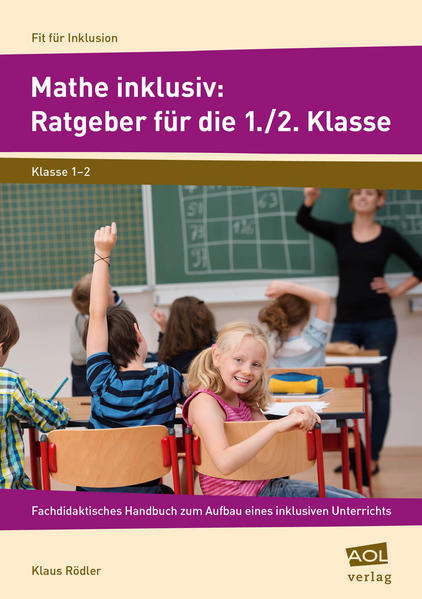 Mathe inklusiv: Ratgeber für die 1./2. Klasse - Coverbild