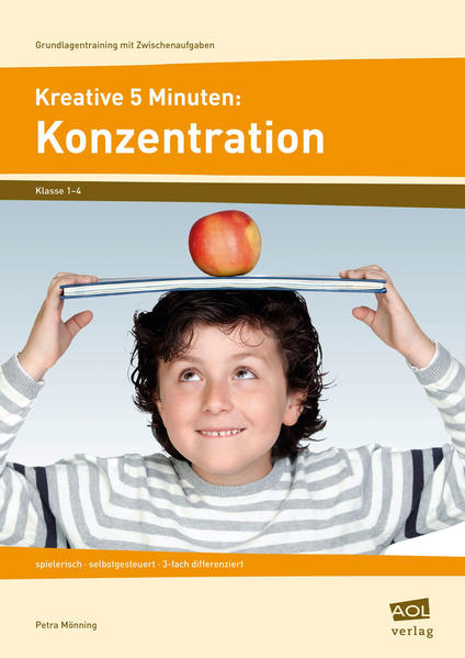 Kreative 5 Minuten: Konzentration - Coverbild