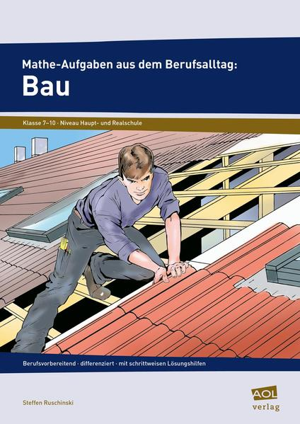 Mathe-Aufgaben aus dem Berufsalltag: Bau - Coverbild