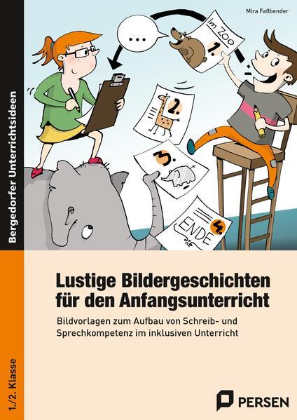 Lustige Bildergeschichten f. den Anfangsunterricht - Coverbild