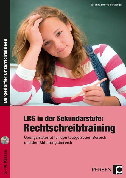 LRS in der Sekundarstufe: Rechtschreibtraining - Coverbild