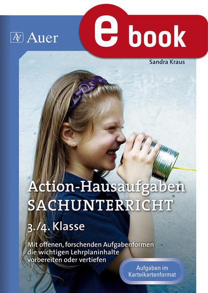 Action-Hausaufgaben Sachunterricht 3+4 - Coverbild