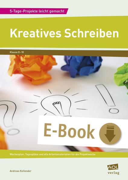 Kreatives Schreiben - Coverbild
