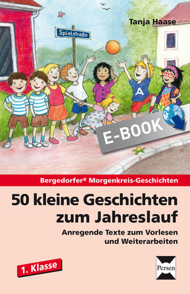 50 kleine Geschichten zum Jahreslauf - 1. Klasse - Coverbild