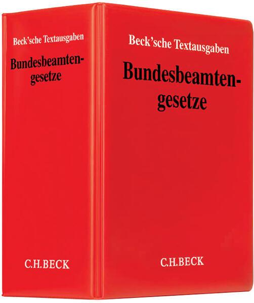 Bundesbeamtengesetze - Coverbild