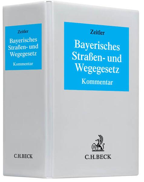 Bayerisches Straßen- und Wegegesetz - Coverbild