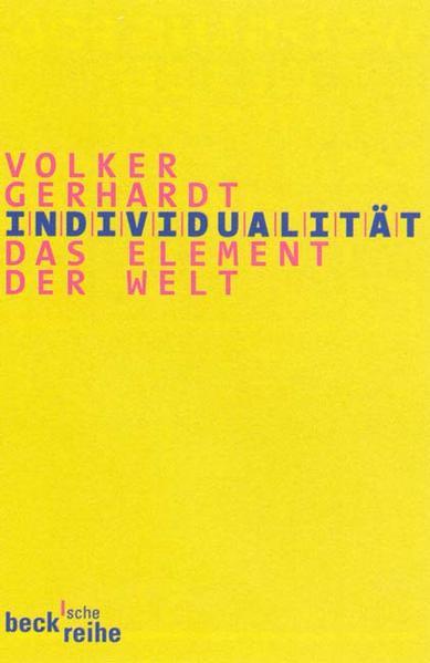 Individualität - Coverbild