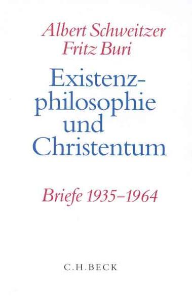 Existenzphilosophie und Christentum - Coverbild
