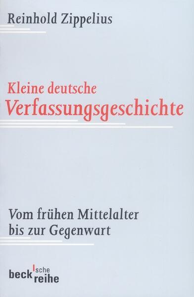 Kleine deutsche Verfassungsgeschichte - Coverbild