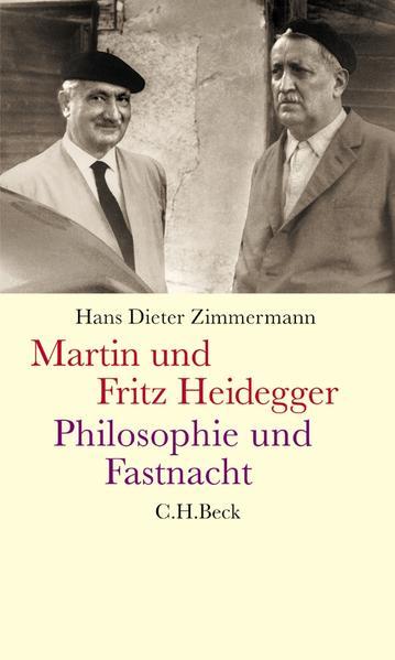 Martin und Fritz Heidegger - Coverbild