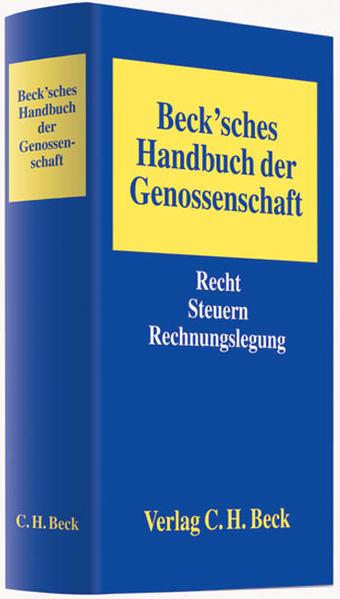 Beck'sches Handbuch der Genossenschaft - Coverbild