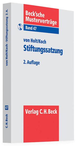 Stiftungssatzung - Coverbild