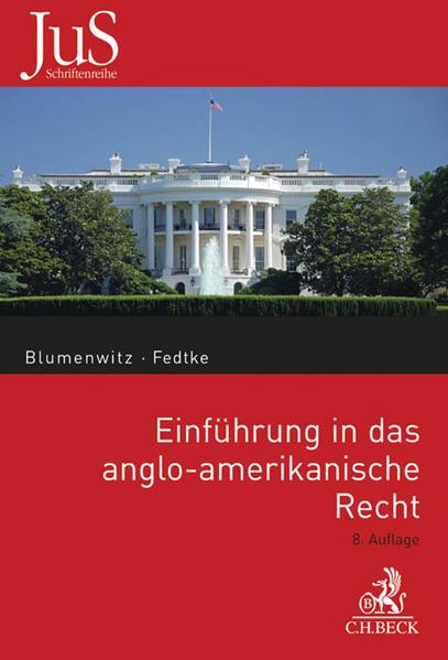Einführung in das anglo-amerikanische Recht - Coverbild