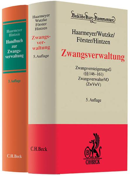 Kombination Haarmeyer/Hintzen, Zwangsverwaltung (6. Aufl.) + Haarmeyer/Hintzen, Handbuch zur Zwangsverwaltung (3. Aufl.) - Coverbild