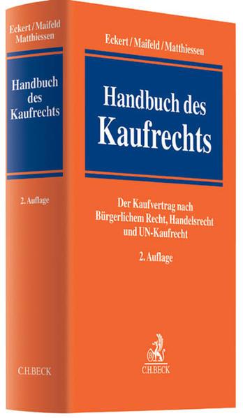 Handbuch des Kaufrechts - Coverbild
