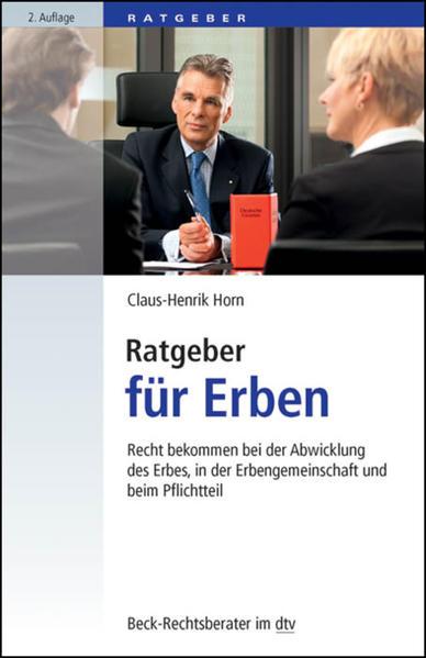 Ratgeber für Erben - Coverbild